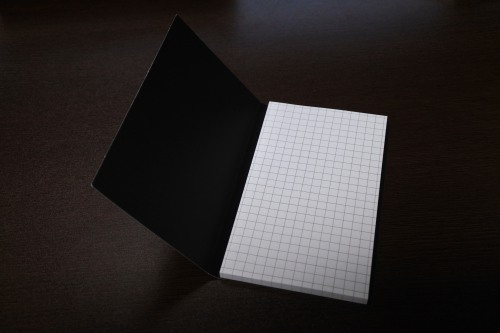 post it のモバイルメモには罫線が書いてあることがわかる画像